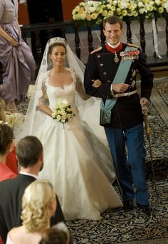 Princess Marie and Prince Joachim's wedding on the 24th of May 2008.