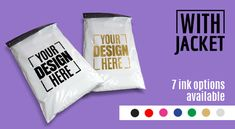 Custom Printed Plastic Courier Bags for Products Packaging & Shipment - Packing Supply Design Packaging, Print Packaging, Custom Packaging, Packing Supplies, Business Logo Design, Screen Printing, Branding, Printed, Blog