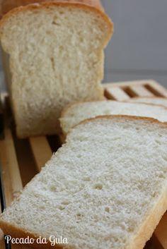 PECADO DA GULA: Pão francês de forma