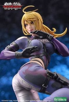 A KOTOBUKIYA Japanese import! The hit line of Tekken Tag Tournament 2 Bishoujo Statues continues! With its thrilling martial arts action, the Tekken Female Character Design, 3d Character, Tekken Girls, Tekken Tag Tournament 2, Bishoujo Statue, Rainbow Six Siege Art, Anime Girl Drawings, Mode Shop, Anime Dolls