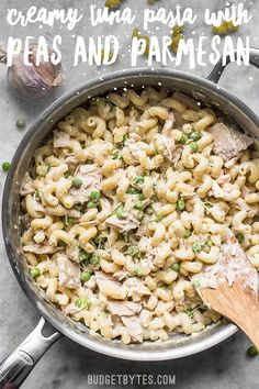 The Rise Of Private Label Brands In The Retail Meals Current Market This Quick And Comforting Creamy Tuna Pasta With Peas And Parmesan Is A Fast And Easy Weeknight Dinner That Only Requires A Few Simple Ingredients. Seafood Recipes, Pasta Recipes, Cooking Recipes, Healthy Recipes, Healthy Meals, Easy Tuna Recipes, Healthy Food, Recipes With Canned Tuna, Healthy Weight