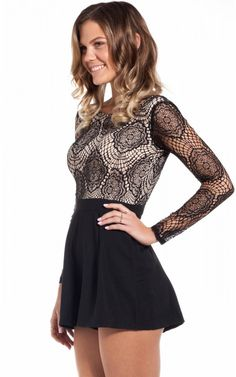 Dorian playsuit in black | SHOWPO Fashion Online Shopping