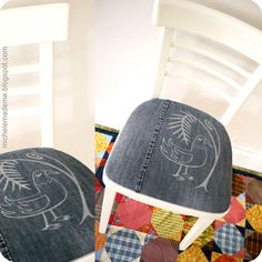 reupholstered seat cushions