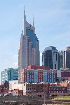 """Downtown Nashville TN, the """"Batman"""" building...:-)"""