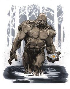 Swamp Thing by Mahmud Asrar