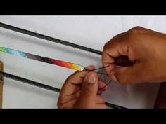DIY/telar para mostacillas/COMO HACER UN TELAR - YouTube