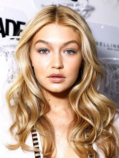 Gigi Hadid  Hairstylist Jennifer Yepez created big, bombshell waves for the model-of-the-moment to go with her sleek Jonathan Simkhai jumpsuit. The secret to Hadid's volume? Kérastase's Spray Volumifique ($40), and Mousse Volumifique ($42), which Yepez applied all through her strands before blow-drying with a round brush.