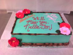 tropical birthday sheet cake - Google Search