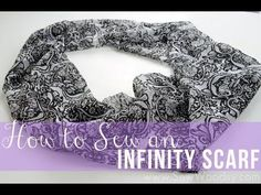How to sew an infinity scarf. |Pinned from PinTo for iPad|