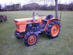KUBOTA LARGE 4WD COMPACT TRACTOR Kubota Compact Tractor, Sub Compact Tractors, Kubota Tractors, Farming, Lawn, Miniature, Trucks, Garden, Vintage