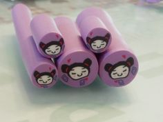 Illustrated tutorial Pucca cane,