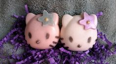 Kitty Soap Set  So cute and the perfect treat by heffernanscrafts
