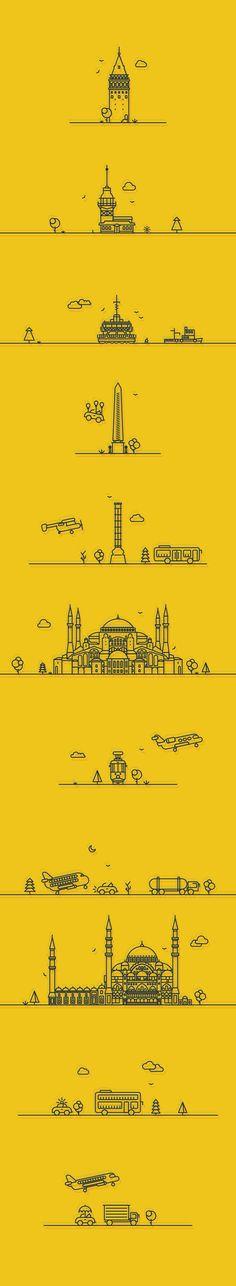 Illustration - Istanbul