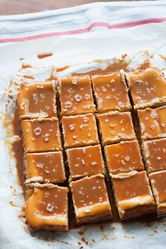 Buttered Up: Dulce de Leche Cheesecake Bars