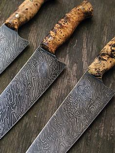 Butcher and Baker 240mm Firestorm Damascus Gyuto, Chef's Knife