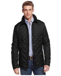 Barbour | Black Men's Heritage Liddesdale Jacket for Men | Lyst