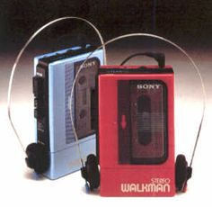 Sony Walkman - First Portable Tape Player arrived from Japan in 1979.