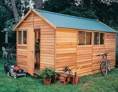 Timber sheds are perfect to use as an office to run your home business from or a comfortable workshop for all your DIY projects.