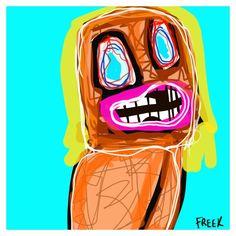 The Sun Worshipper by Sam Freek - #art #abstract #digitalpainting