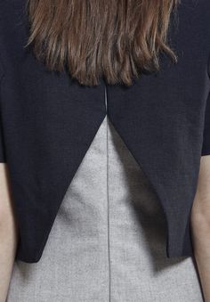"""AKIN TO _______  AW15 """"Plomb"""" Collection   Back detail"""