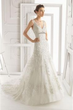aire barcelona illusion bateau | Wedding!, Dress wedding and Airess