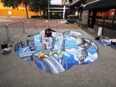 3D Streetpainting   Flickr - Photo Sharing!