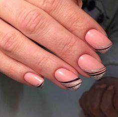 35 best fall nail art designs you must try 00048 Fall Nail Art Designs, Toe Nail Designs, Cute Nails, Pretty Nails, Gel Nails, Acrylic Nails, Beautiful Nail Art, Simple Nails, Christmas Nails