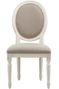 French Oval Side Chairs - Set of 2 from Home  Decorators