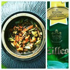 So ein leckerer Tee Ayurveda Liebestraum Ingwer Ginseng  #tee #teatime #ayuverda #ingwer #ginseng #liebestraum #eilles #teatime #teatime