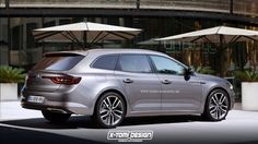 X-Tomi is showing us how the Renault Talisman Estate may look like image