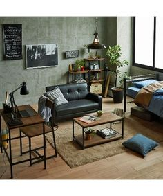 Small Apartment Interior, Living Room Interior, Minimalist Apartment, Interior Decorating, Interior Design, Living Styles, My Room, Living Area, Home Goods