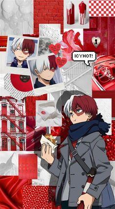 Todoroki Wallpaper | Anime Wallpaper Phone, Anime