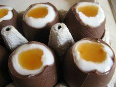 Húsvét nálunk - Otthonkommandó Easter Chocolate, Eggs, Breakfast, Food, Morning Coffee, Essen, Egg, Meals, Yemek