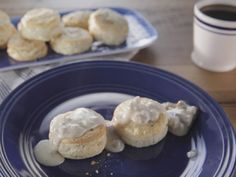 Black Pepper Biscuits and Sausage Gravy recipe from Trisha Yearwood via Food Network