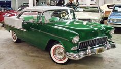 1955 Chevrolet Bel Air Sport Coupe 2-dr. hardtop. I know it's not 60's, but my brother had one like this (lighter green) and he still had it in the 60's. Lots of fond memories.
