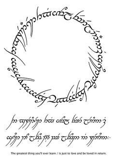 tengwar fonts
