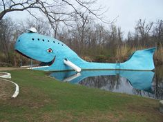 Blue whale of Catoosa, OK