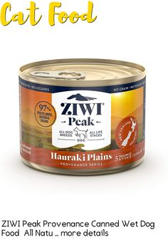 (This is an affiliate pin) Flavor Name:Hauraki Plains|Size:6 oz - Case of 12The ZIWI Difference: We believe a holistic pet food starts with only the best natural ingredients. Rooted in New Zealand culture, our farmers and fisherman believe wholeheartedly in their role as kaitiaki; or being guardians of the land and sea. Ethical and sustainable isnt just a standardits our way of life. Perfect for carnivores, our PeakPrey recipes are rich in meat and organs in authentic ratios, free from… Wet Dog Food, Pet Food, Canned Cat Food, Way Of Life, All Dogs, High Protein, Superfoods, Farmers, Grain Free