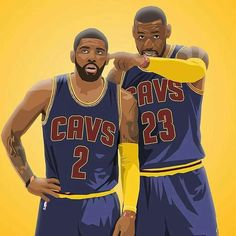 7733ea63ab1 TAGS  Kyrie LeBron Cavaliers Lebron James Funny