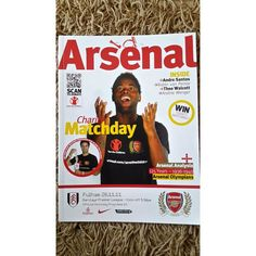Arsenal v Fulham Football Programme 2011/2012 Premier League Listing in the Premiership Fixtures,2004-Now,League Fixtures,English Leagues,Football (Soccer),Sports Programmes,Sport Memorabilia & Cards Category on eBid United Kingdom