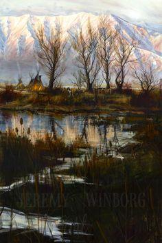 Jeremy Winborg Art, LLC - Autumn Lodge, kK