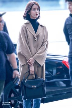 Korean Airport Fashion, Korean Fashion Winter, Kim Hyoyeon, Yoona Snsd, Snsd Fashion, Ulzzang Fashion, Kim So Eun, Korean Actresses, Kpop