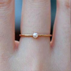 Cushion Cut VS Pink Morganite engagement ring set,Curved U diamond wedding band,half bridal rose gold,Deco - Fine Jewelry Ideas Pearl Ring Design, Gold Ring Designs, Simple Ring Design, Ring Set, Ring Verlobung, Opal Edelstein, Jewelry Gifts, Fine Jewelry, Dream Ring