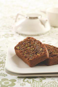 Schokoladen-Pistazienkuchen ohne Mehl