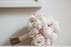 Soft Blush Peony Bouquet | Photo: jayrowden.com | As Seen On #SMP: http://www.stylemepretty.com/2013/11/07/english-country-wedding-from-jay-rowden