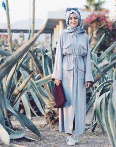 Sonbahar Stili İçin Yeni Tesettür Kombin Fikirleri Muslimah Clothing, Modest Fashion Hijab, Modesty Fashion, Abaya Fashion, Turkish Fashion, Islamic Fashion, Muslim Fashion, Girl Hijab, Hijab Outfit