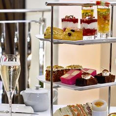 Afternoon Tea at the luxurious five star One Aldwych Hotel