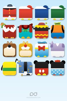iPhone 4 | disney icon wallpaper by paledesigns