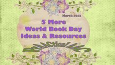PrAACtical AAC: 5 More World Book Day Resources & Ideas. Pinned by SOS Inc. Resources. Follow all our boards at pinterest.com/sostherapy for therapy resources.