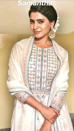 Wedding Outfits For Women, Indian Wedding Outfits, Indian Outfits, Indian Dresses, Indian Attire, Indian Wear, Samantha Images, Samantha Ruth, Stylish Photo Pose